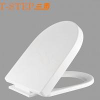 本厂直销 三步品牌加厚耐用缓降静音PP塑料马桶坐便器盖板S-