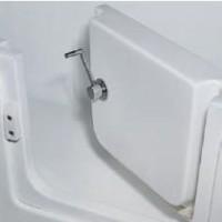 亚克力浴缸开门缸两用屏风淋浴房出口英国SL9142(00)