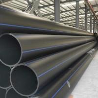 河北pe管 国标全新料 pe聚乙烯管材φ110 φ280 φ630 HDPE输水管厂家直供