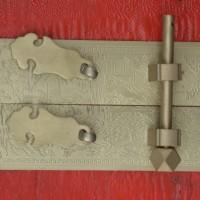 铜插销 门铜销 铜门锁